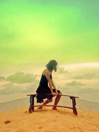 الفراغ العاطفي يقتل الزوجة ويفجر الاحتقان النفسي  - امرأة وحيدة حزينة فى الحب رومانسية مهجورة - sad lonely woman girl love romance