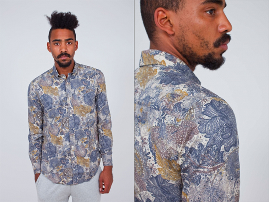 Legacy Marble Flowers Shirt