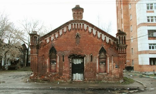 03-Monster-House-Street-Art-Nikita-Nomerz-Derelict-Buildings
