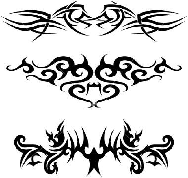 beckham tattoo fonts
