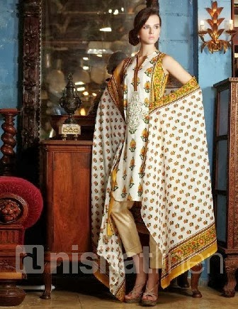 Nishat Linen Beautiful Lawn Collection