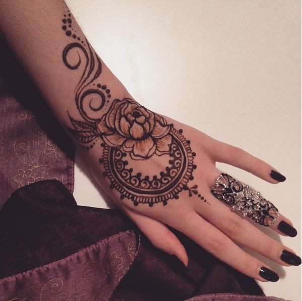 Mehndi Designs For Hands Images Free Download : Bridal mehndi designs easy for hands