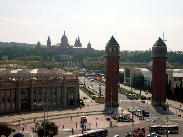 tre giorni a barcellona, plaza de Espanya
