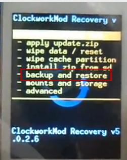 Instal ClockworkMod Recovery di Samsung Galaxy Y dan Backup Rom