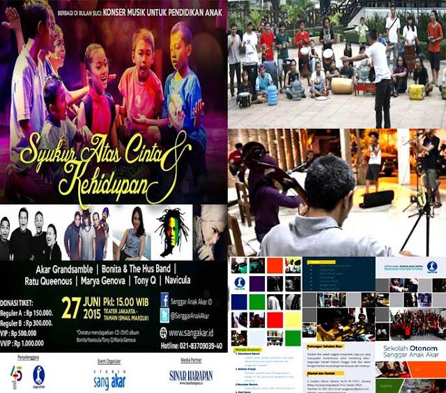 """Berbagi Di Bulan Suci: Konser Musik Untuk Pendidikan Anak """"Syukur Atas Cinta & Kehidupan"""""""