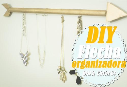 Faça Você Mesmo: Flecha Organizador de Colares/Braceletes