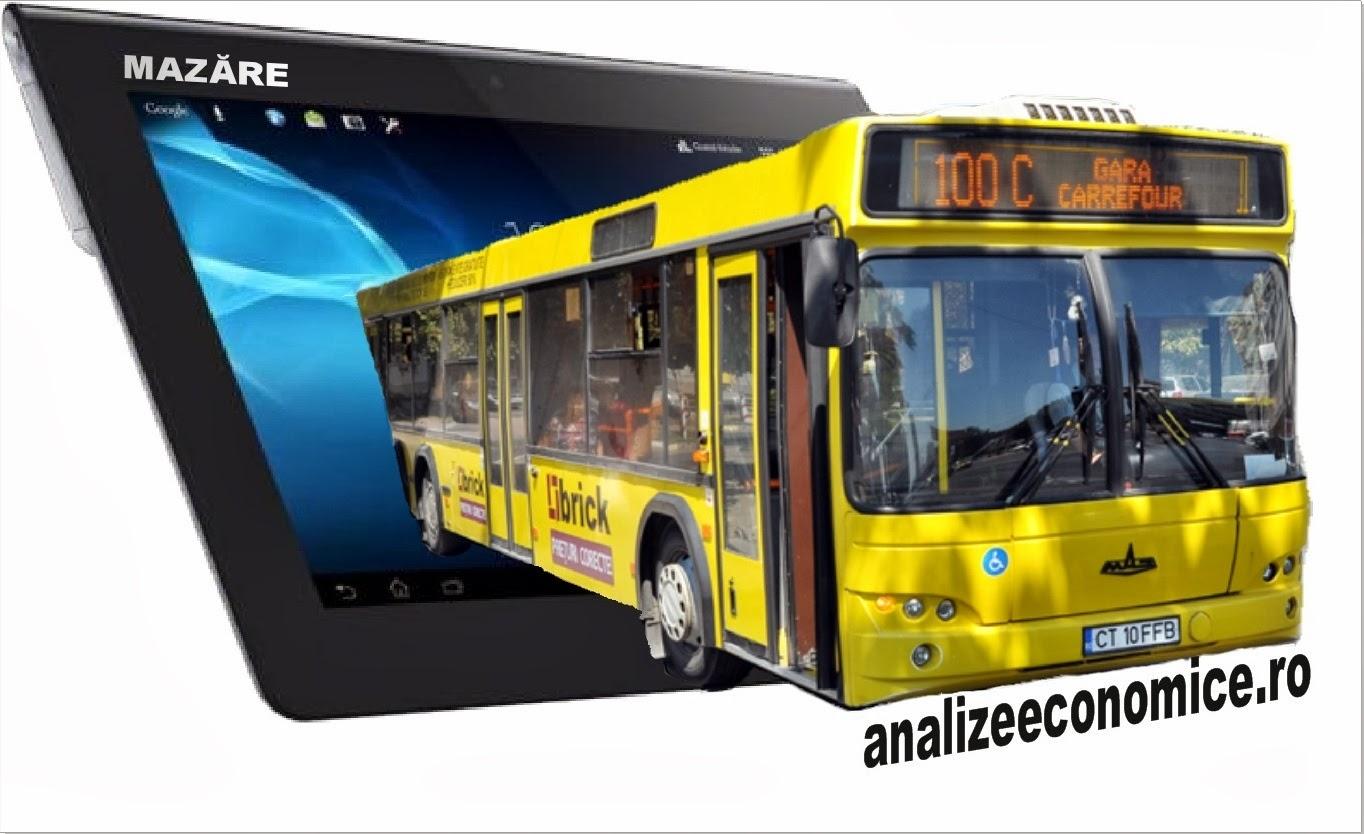 Internet la liber în autobuzele din Constanța