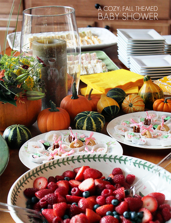 bubby and bean living creatively my cozy fall themed baby shower