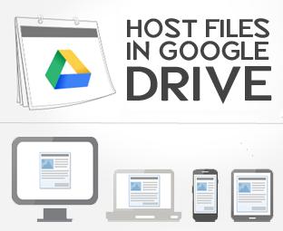 Cara Menyimpan File JavaScript dan CSS di Google Drive