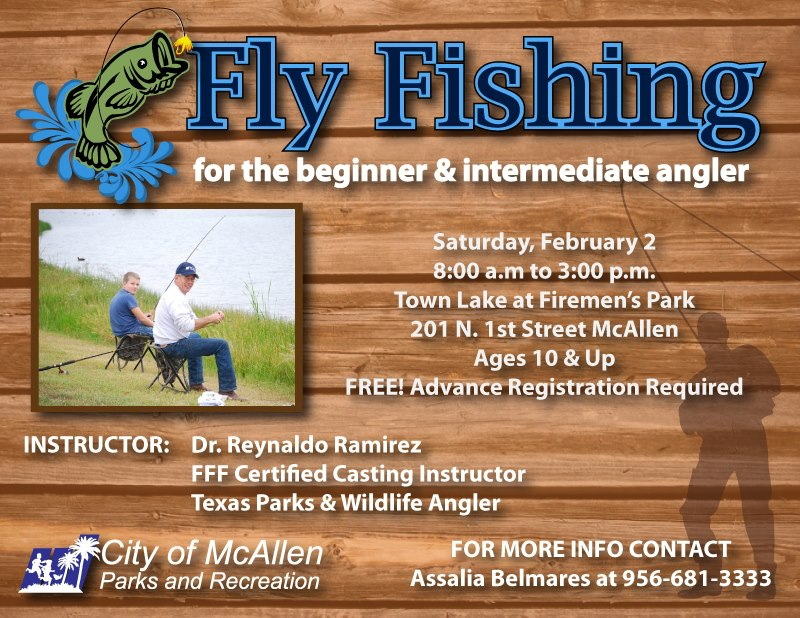 Rgv Life Fly Fishing Instruction By Mcallen Parks And Rec