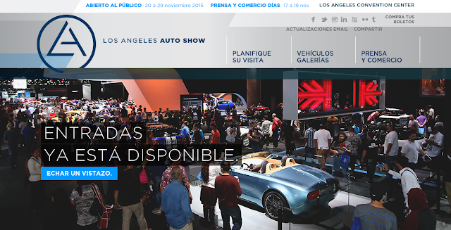 Autoshow de los angeles 2015