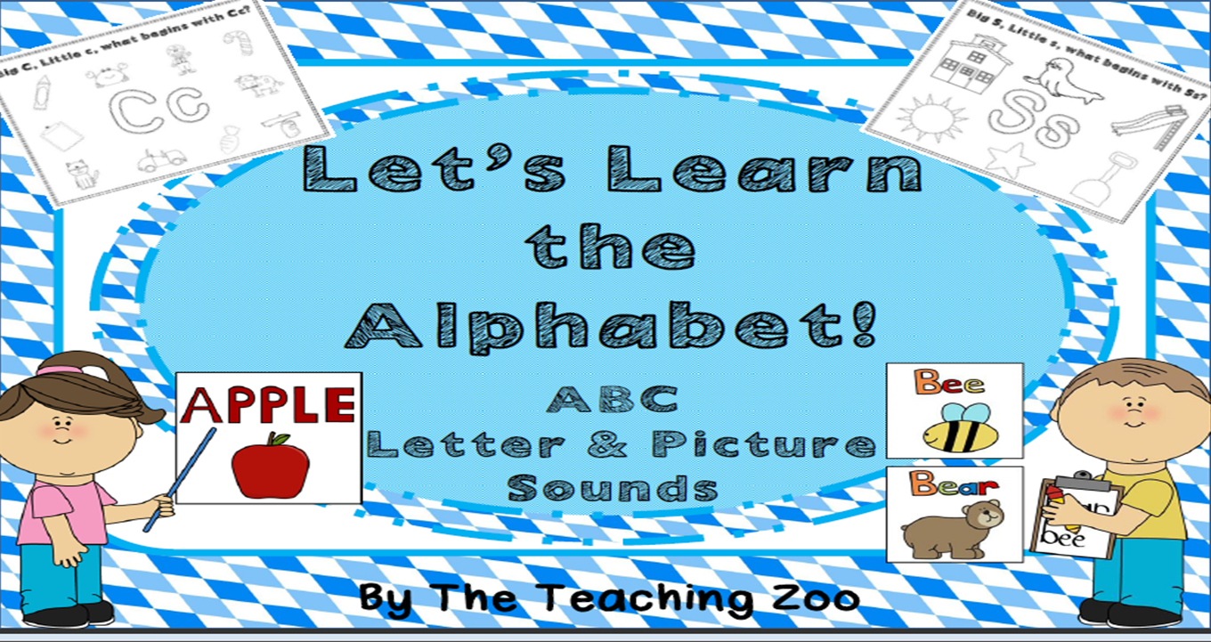 http://www.teacherspayteachers.com/Product/Lets-Learn-the-Alphabet-ABC-Letter-Sound-Picture-Coloring-Posters-1293276
