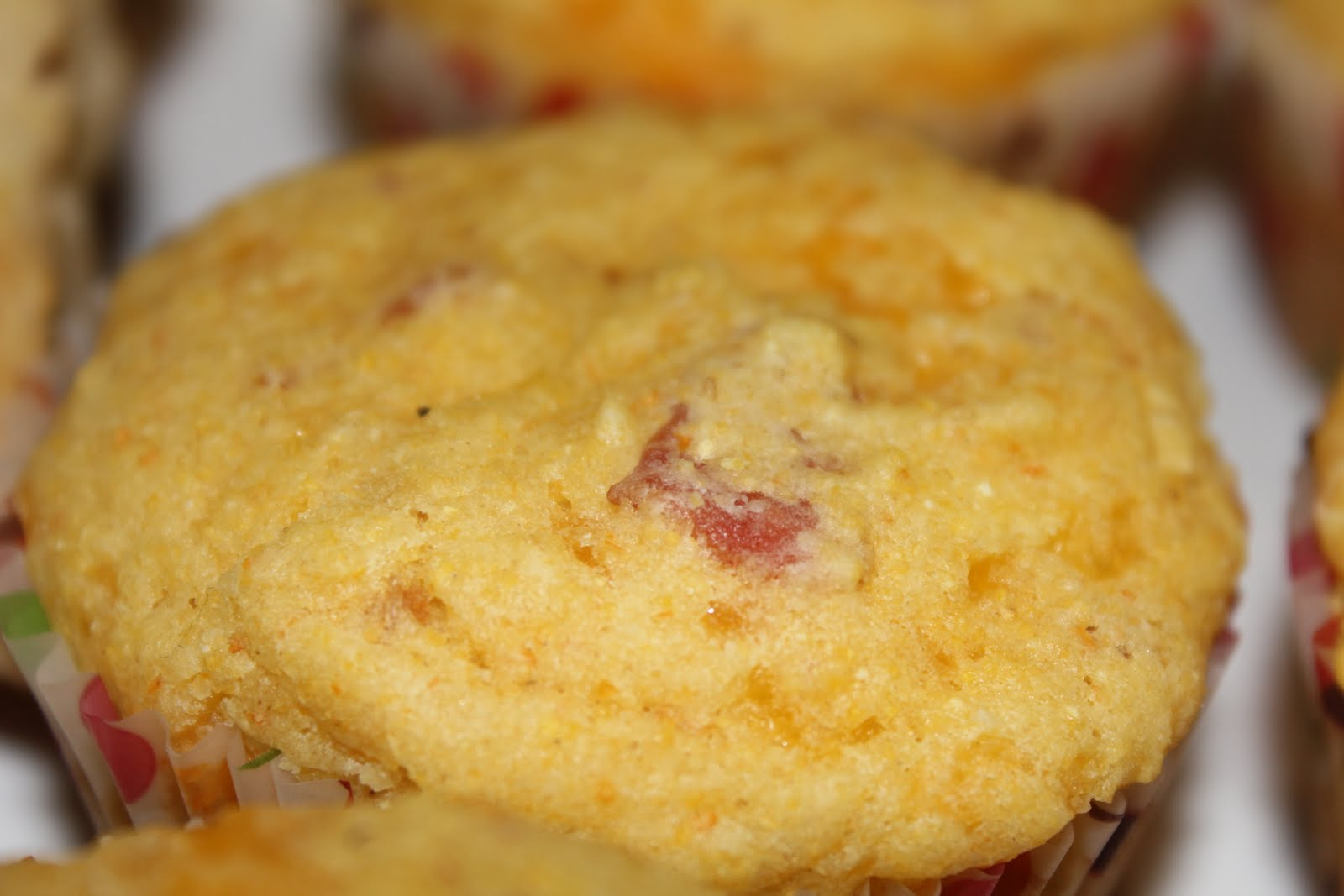 simply made with love: Bacon Cheddar Corn Muffins