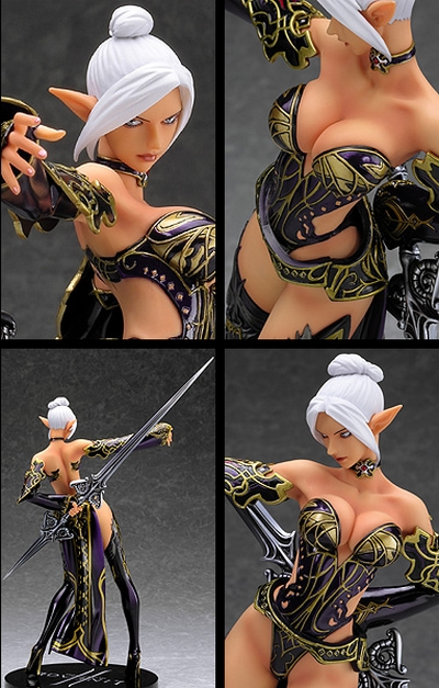 Lineage II Dark Elf PVC Figure Good Smile