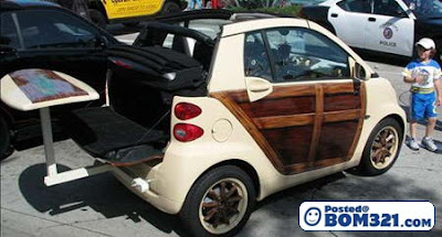 Modifikasi Kereta Mini SMART