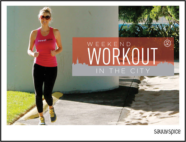 Savvy+Spice+fashion+blog,+Dale+Janee+Steliga,+weekend+workout+in+the+city,+View+Sport+tank+top,+Nike+Tennis+shoes