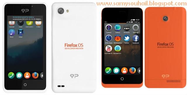 """Peak"" و""KEON"" هاتفين ذكيين بنظام ""FireFox"" مخصصان للمطورين فقط"
