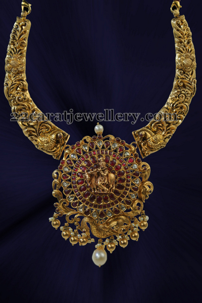 Filigree Design Set Krishna Pendant