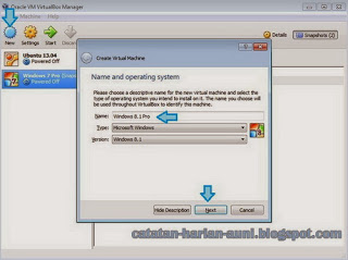 Setting Oracle VM VirtualBox