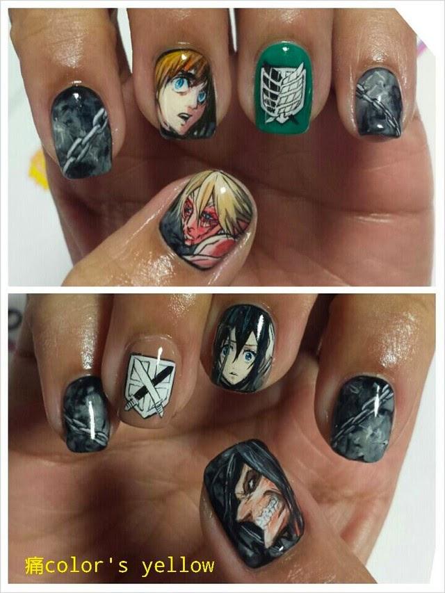 Nail salon designs anime nail salon designs prinsesfo Gallery