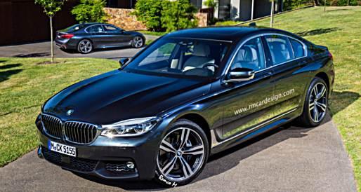 2017 BMW 5 Series Renderings with M Sport Package