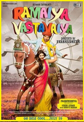 Ramaiya Vastavaiya HD Movie Poster