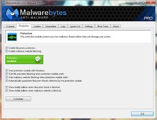 Malwarebytes Anti-Malware 1.75