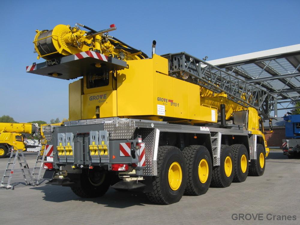 Grove Cranes Grove Gmk 5110 1 110t Class At Crane