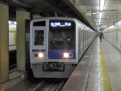 東京メトロ副都心線 東急東横線直通 各停 横浜行き2 西武6000系