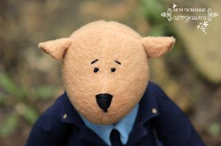мишка, медведь, игрушка, текстильная игрушка