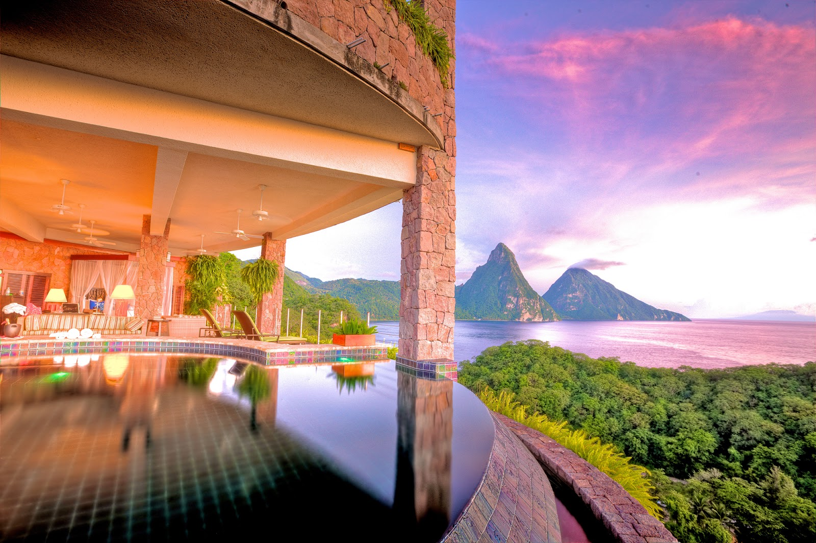 Discover YOUR WORLD: Destination: Saint Lucia - paradise hidden in the Caribbean - 3 exclusive resorts in the Pitons