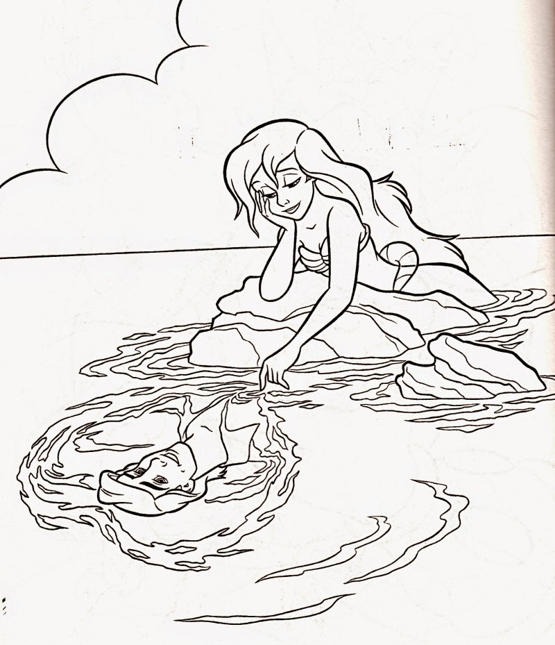 Coloring Pages Ariel The Little Mermaid Free Printable Coloring Pages