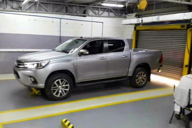 Images For The All New 2016 Toyota Hilux Have Leaked, And Weu0027re Liking What  We See! The Hilux Is Going To Be Roughly The Same Size As The Toyota  Tacoma, ...