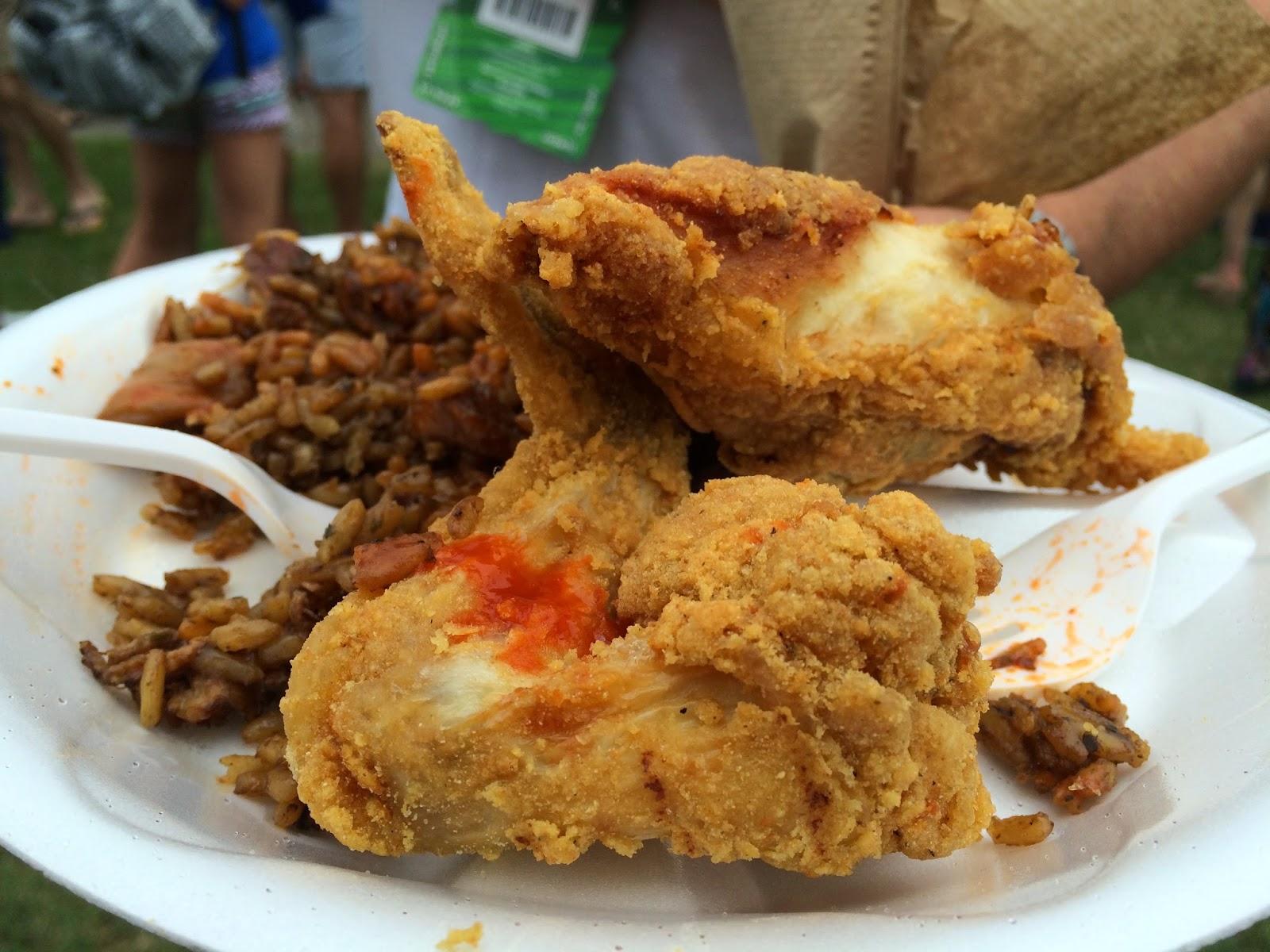 Classic Fried Chicken and Jambalaya