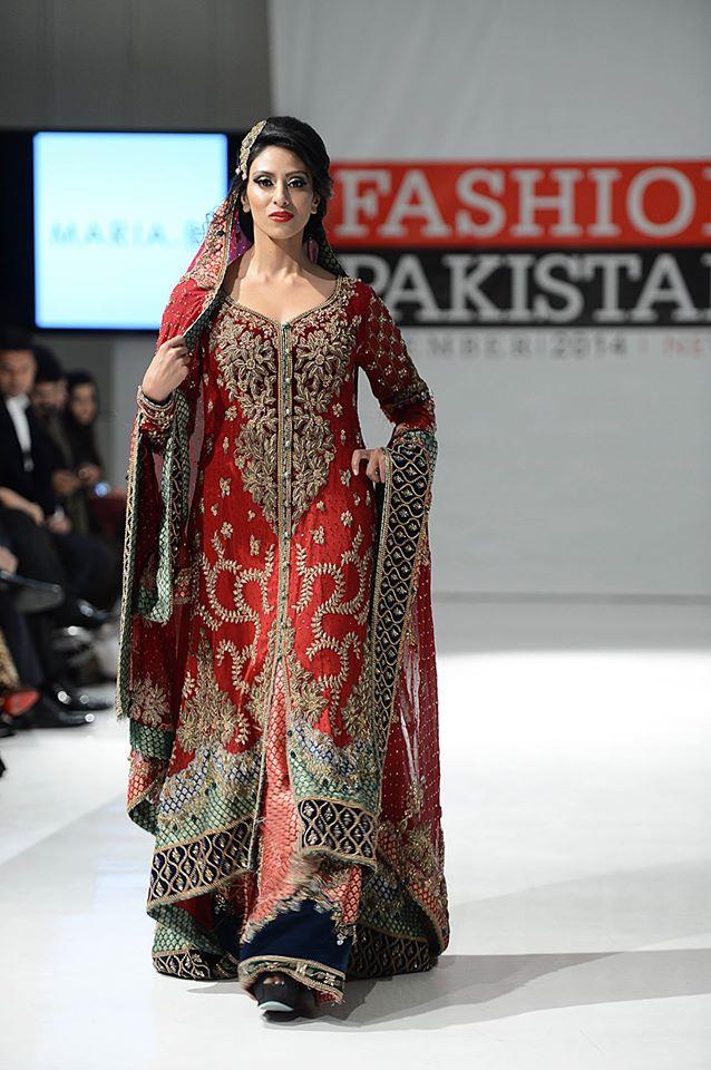 New York Pakistan Fashion Week Maria B Dress 2015 Uk Fashion Style