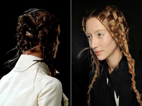 7 Зачіски на довге волосся від Alexander McQueen