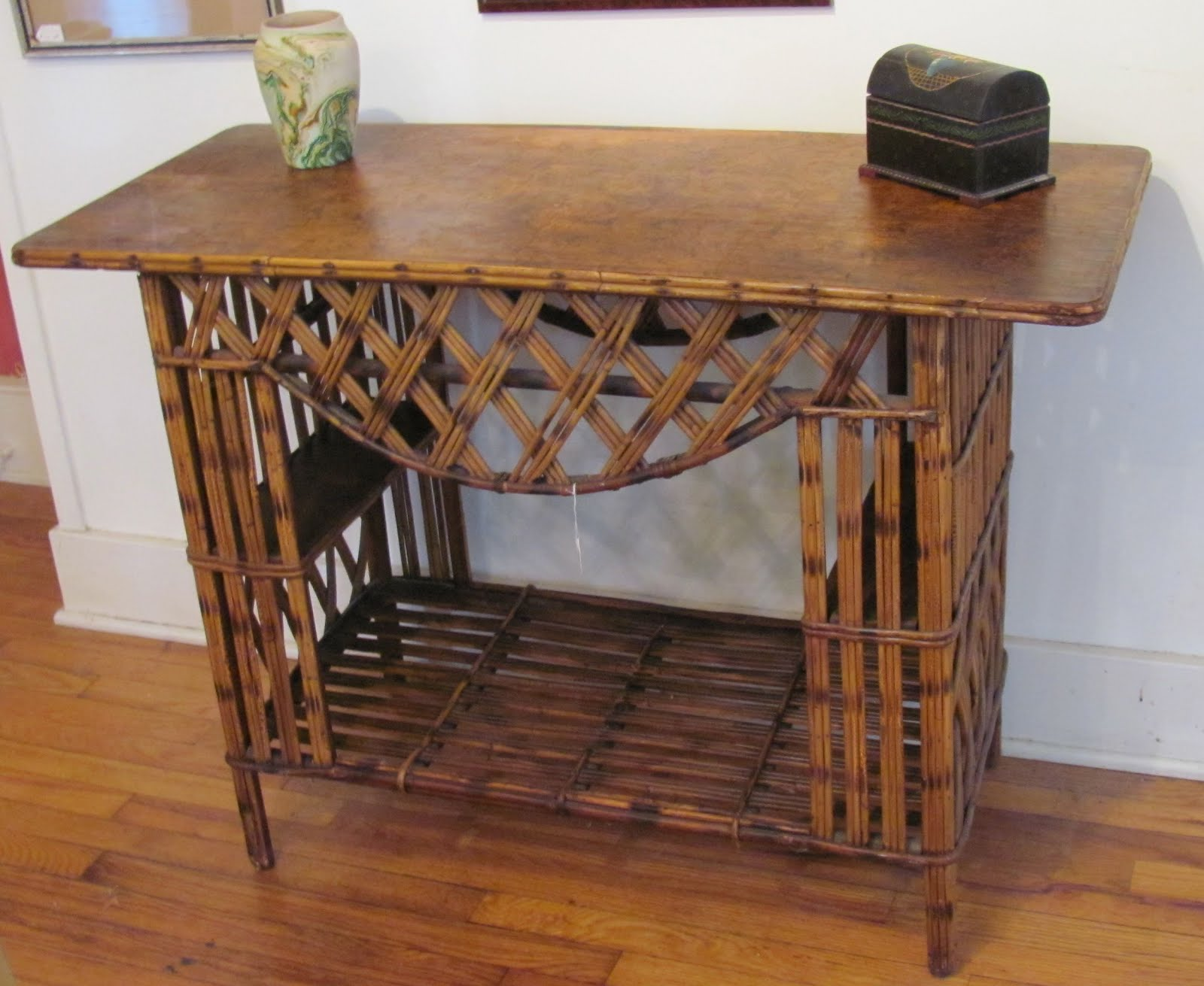 Rattan Console Table  Red Hook Antique Center. Glass Top For Coffee Table. Two Drawer Coffee Table. Edwardian Ladies Writing Desk. Reading Desk For Bed. Chippendale Drawer Pulls. Vinyl Picnic Table. Bassett Furniture Home Office Desks. Conference Table