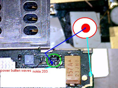 Nokia Asha 203 Power On Off Switch Problem