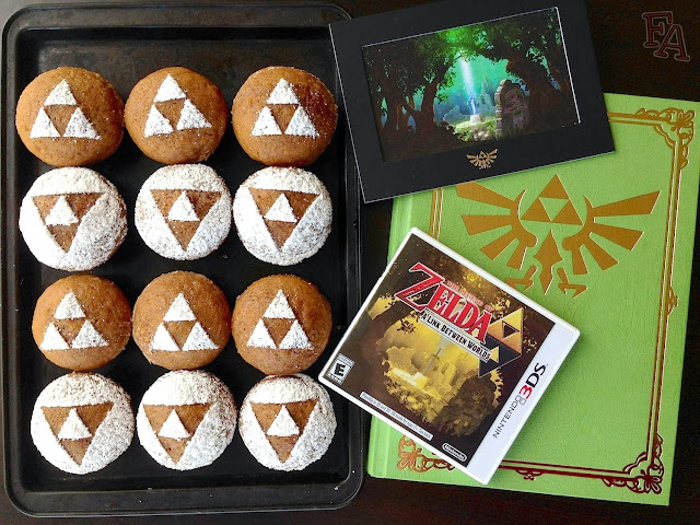 Fiction food caf triforce pumpkin muffins for a link for Cuisine zelda