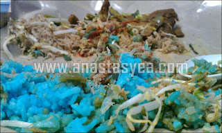 Nasi Kerabu vs Premieum Beautiful