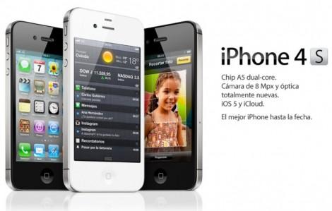 iPhone 4S disponible para comprar en algunos países