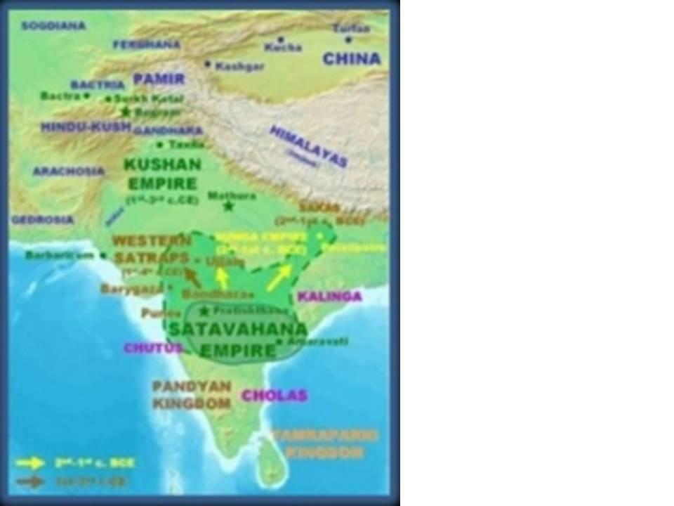 Indian Peninsula Map of The Indian Peninsula