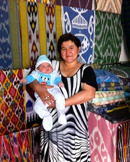 uzbek ikats, uzbekistan textile tours