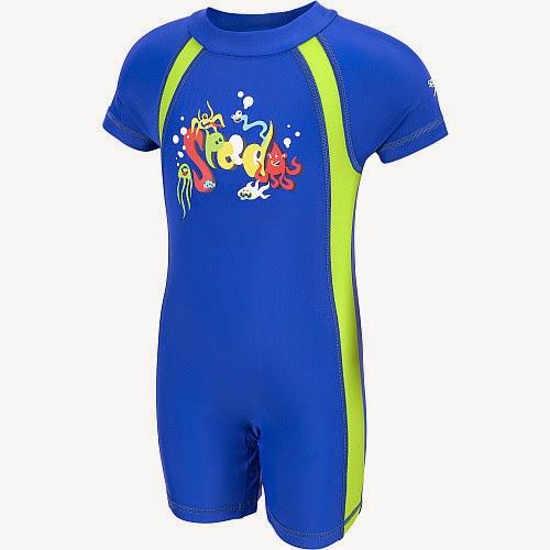 Sports authority coupon 25%: Speedo Toddler Boys' Begin To Swim Short-Sleeve Rashguard