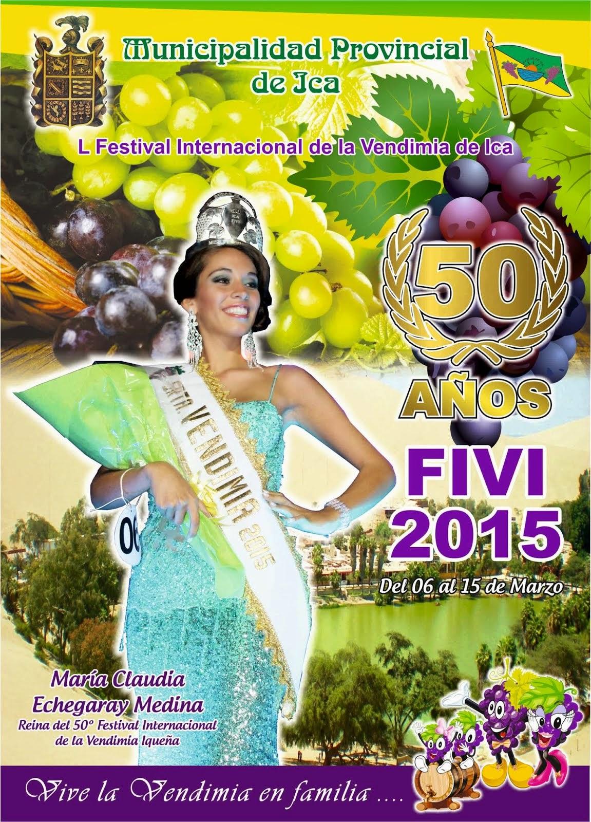 PROGRAMA OFICIAL 50 FESTIVAL INTERNACIONAL DE LA VENDIMIA