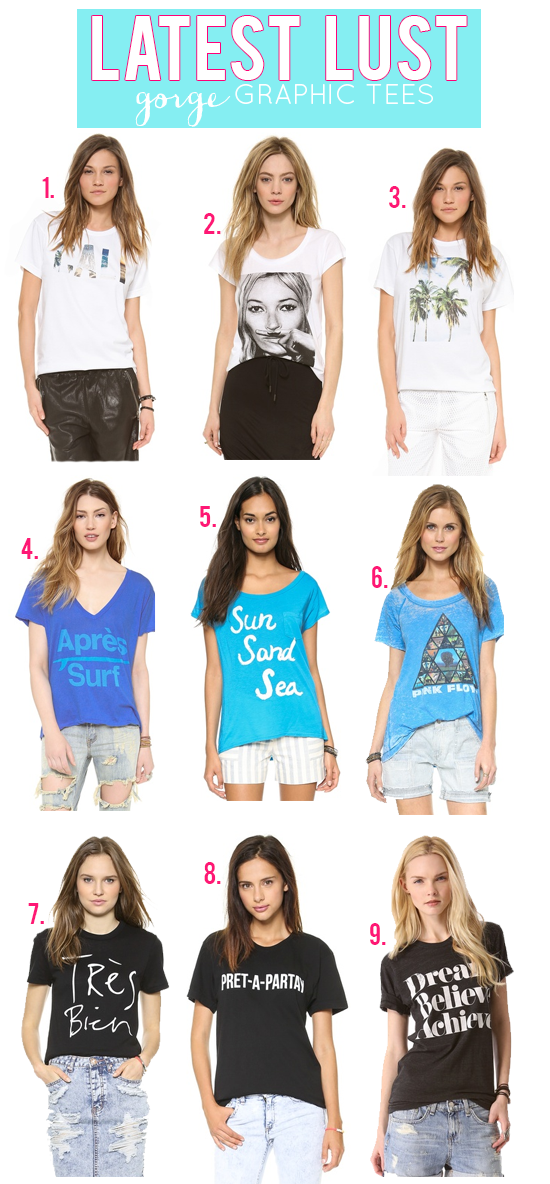 Latest Lust: Gorgeous Graphic Tee