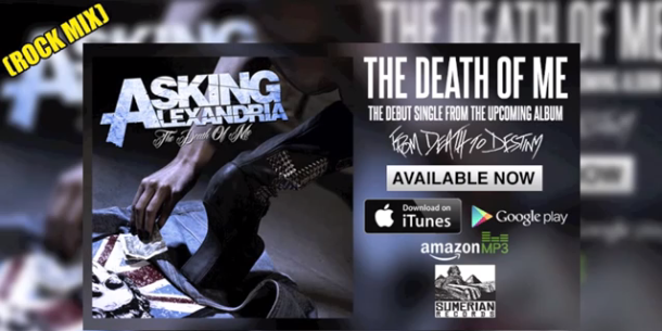 Death of Me Asking Alexandria