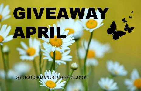 Giveaway April by Syira Lokman