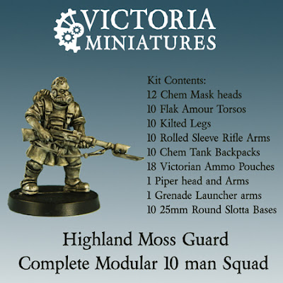 Victoria Miniatures Highlands