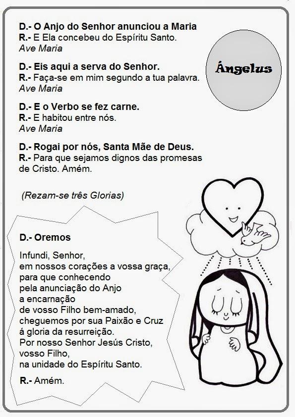 El Rincón De Las Melli ángelus En Portugués